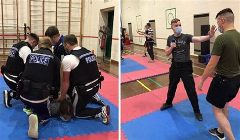 Police Professional   Officer safety training to undergo