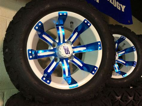 Golf Cart Wheel and Tire combo for LIFTED E-Z-GO 10 IN