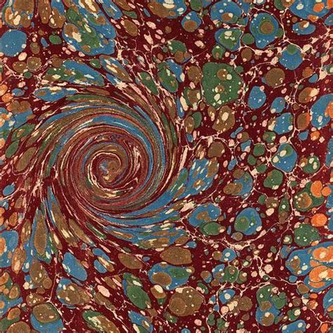 Paper Marbling Art Techniques from the Most Famous Artists