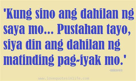 QUOTES ABOUT LOVE TAGALOG HUGOT image quotes at relatably