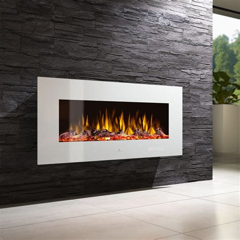 Electric fireplace - NOBLE FLAME VEGAS WEISS - muenkel