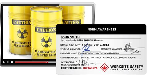 NORM Awareness   Worksite Safety