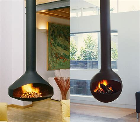 Suspended Fireplace - hot new trend