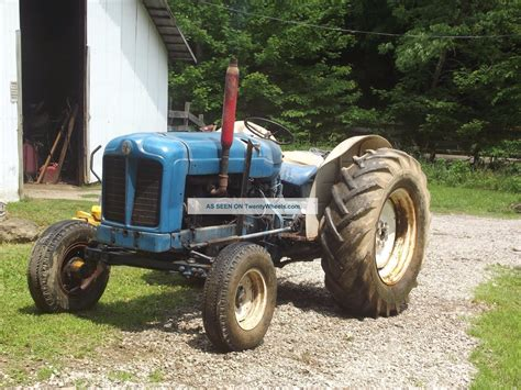 54 Hp Ford (fordson) Tractor
