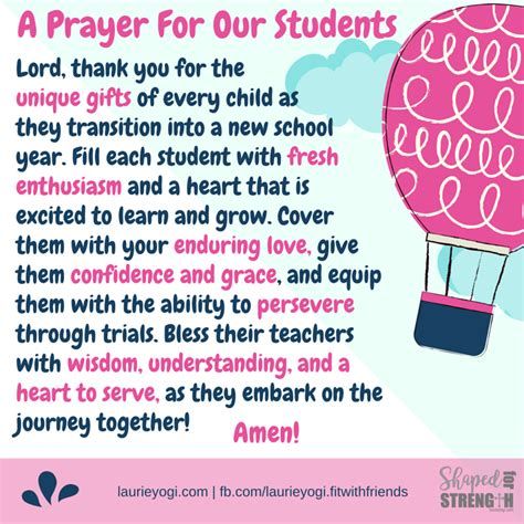 Back-to-School Prayers for Teachers, Students and Families