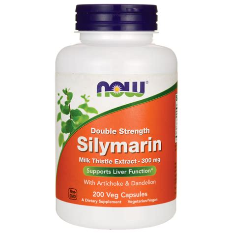 NOW Foods Silymarin 200 Vcaps - Swanson Health Products