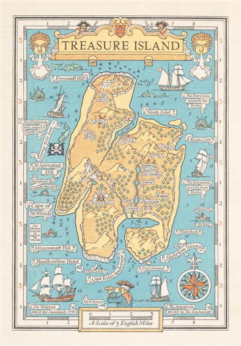 An Atlas of Literary Maps Created by Great Authors: J