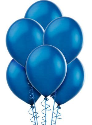 Royal Blue Pearl Balloons 15ct - Party City