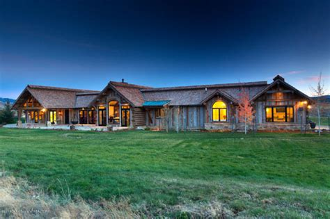 Rustic Ranch Home - Rustic - Exterior - Other - by Altius