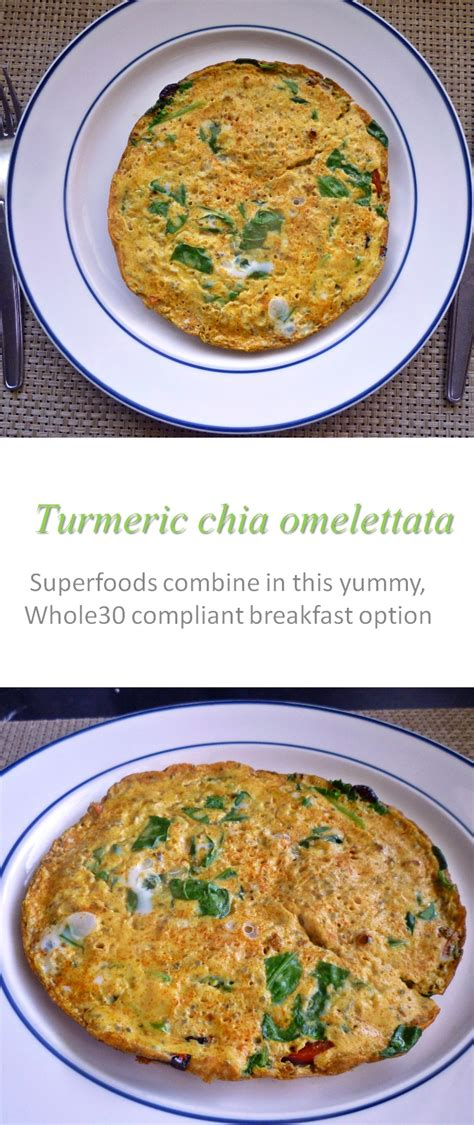 Cook at home | Turmeric chia omelettata - Cook at Home