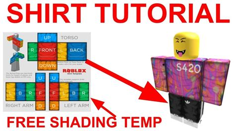 HOW TO MAKE ROBLOX CLOTHING 2019 (SHADING TEMPLATE) - YouTube