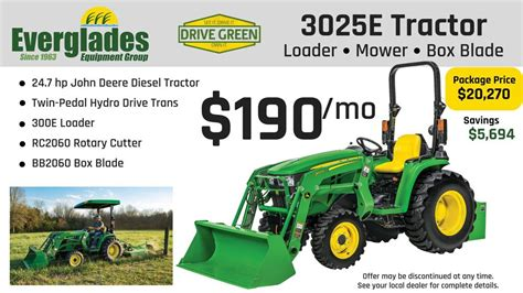 John Deere Tractor Packages Near Me - Used Tractor For