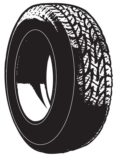 Tyre clipart - Clipground