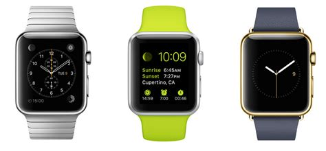 Apple Watch and Watch Sport -- What are the differences
