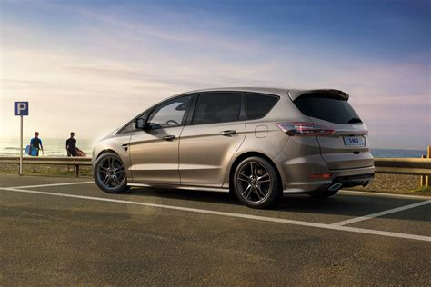 Ford Updates S-Max, Galaxy For 2019 - autoevolution