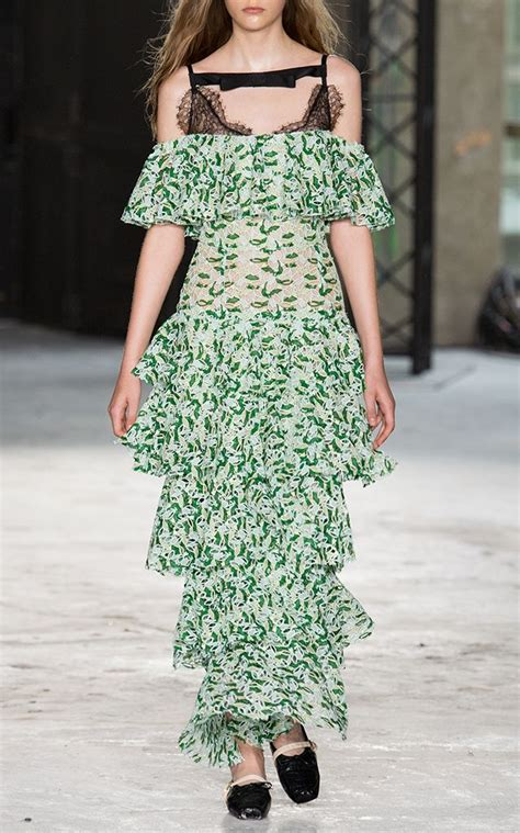 Off-The-Shoulder Dress by GIAMBATTISTA VALLI Now Available
