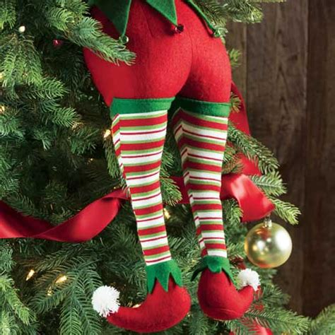 Merriest Elf Legs, All Gifts: Olive & Cocoa