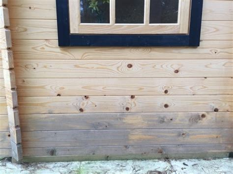 Log Cabin Treatment Gone Wrong |Tuin : Tuindeco Blog