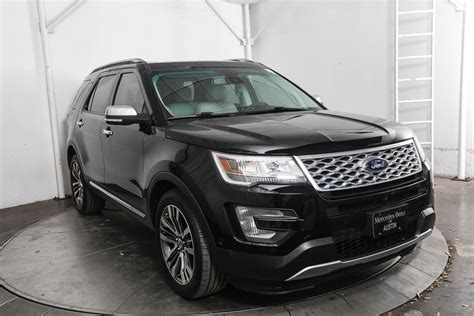 Pre-Owned 2016 Ford Explorer Platinum 4D Sport Utility in