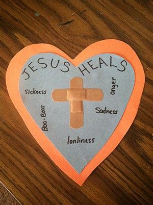Jesus Healed a Royal Official's Son Bible Craft - Children