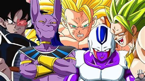 Top 5 Best Dragon Ball Z Movies - YouTube