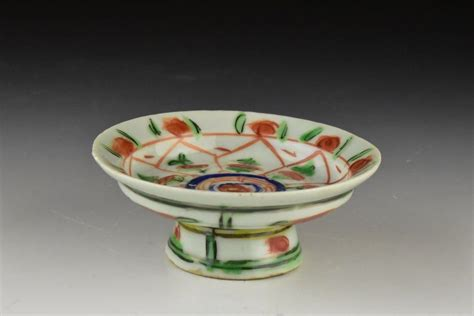 Footed Dish Ming Dynasty | Artifact Collectors