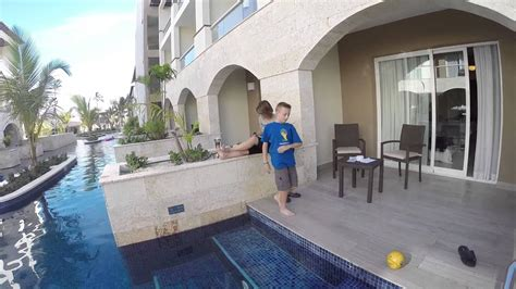Punta Cana - View of Swim Out Room - YouTube