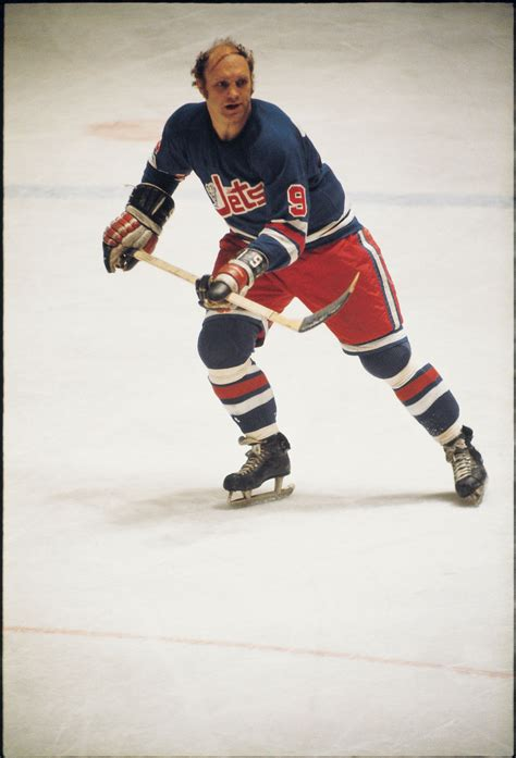 Bobby Hull from the 1970s with the Winnipeg Jets | Bobby