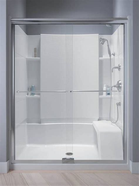 Image result for replace tub with walk in shower   Prefab