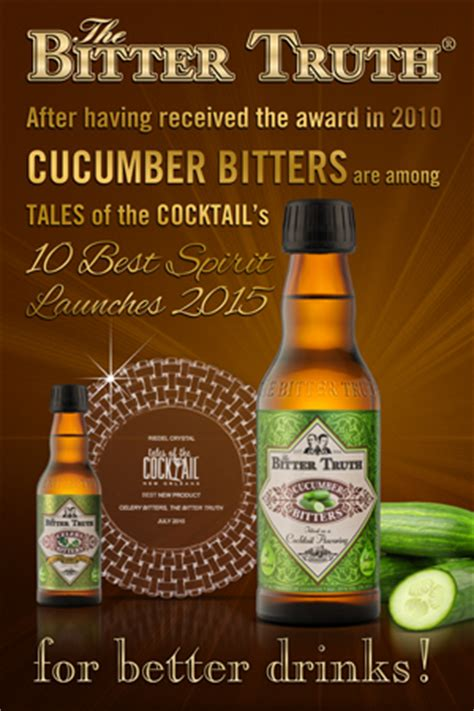 Cucumber Bitters among TOTC Top 10 Best New Products 2015