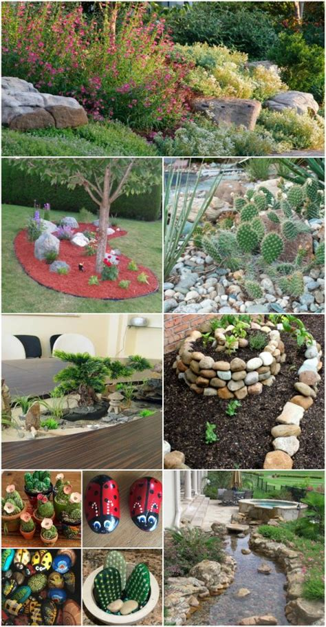 10 Gorgeous And Easy DIY Rock Gardens That Bring Style To