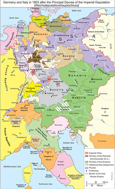 Map Of Germany And Italy | Campus Map