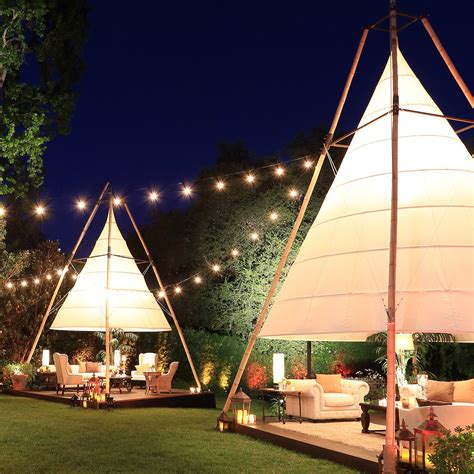 Latitude 22 Bamboo Lantern Tent | Town & Country Event Rentals