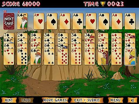 Play Forty Thieves Solitaire Gold Free Online Game