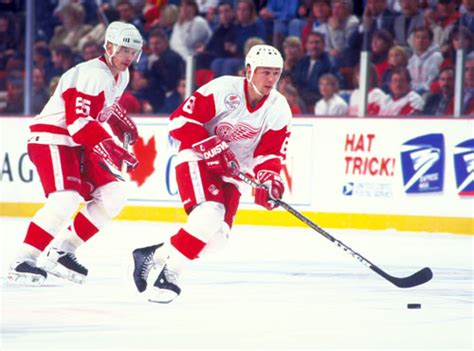 Two future Hall of Famers as members of the Detroit Red