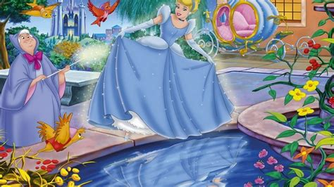 Cinderella And Fairy Godmother Wallpapers For Mobile