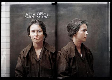 Incredible Colorized Images of Australia's Most Notorious