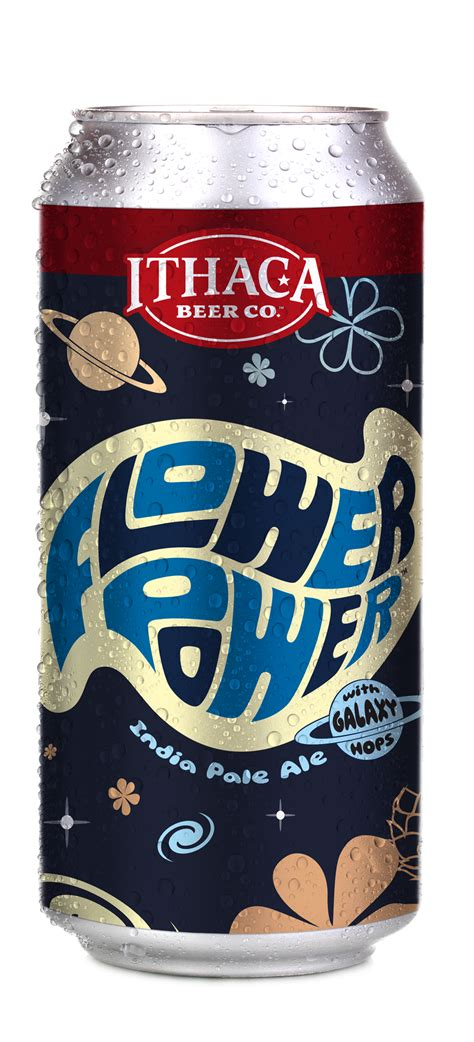 Ithaca Beer Company Introduces Flower Power Variant Series